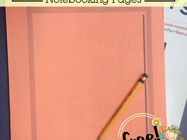 Free Zoo Field Trip Notebooking Pages