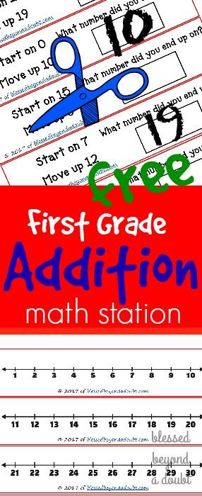 Math Stations Worksheets