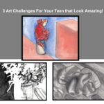 3 Free Art Challenges for Teens