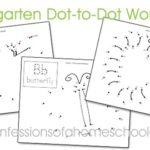 Dot-to-Dot Worksheets for Kindergarten