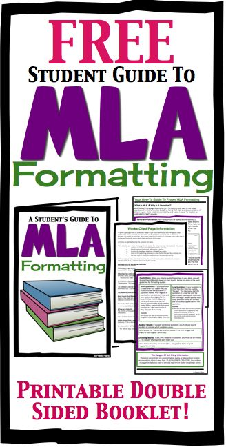 This free MLA formatting student handbook includes the most important guidelines students should follow when writing a research paper. Simply print, fold and go! :: www.thriftyhomeschoolers.com