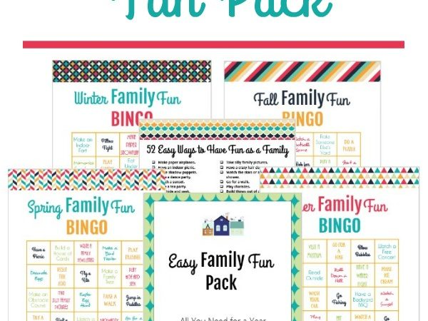 Printable Family Fun Pack