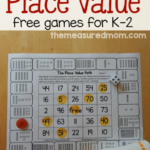 Printable Place Value Games {3 in 1}