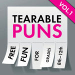 Tearable Pun Fliers Freebie