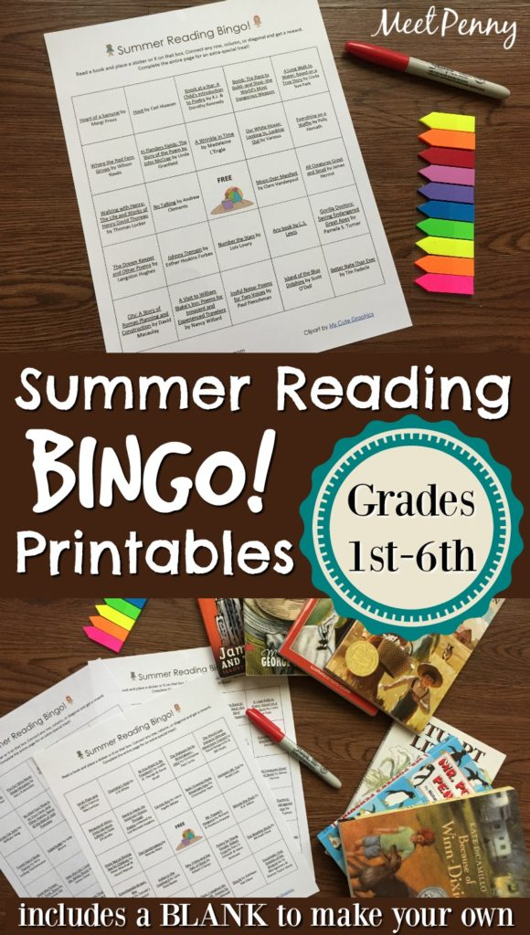Create your own summer reading program printables - Design your own home application ...