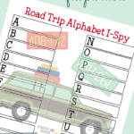 Free Alphabet Road Trip I Spy Game