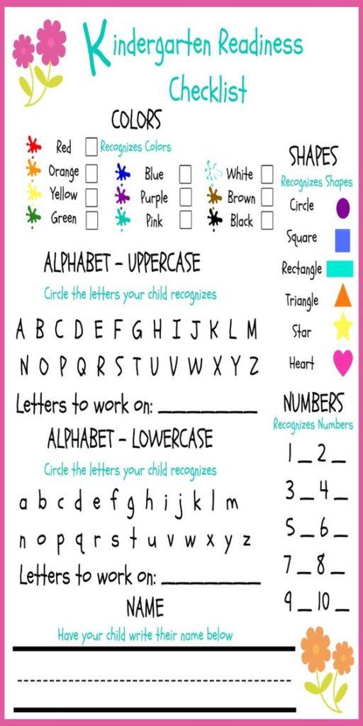 preschool readiness test preschool readiness checklist 46808