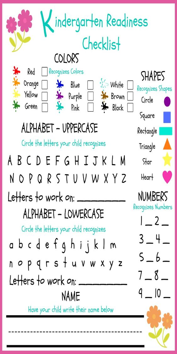 graphic relating to Kindergarten Readiness Checklist Printable named Preschool Readiness Listing - Thrifty Homeschoolers