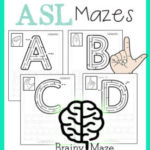 Free ASL Alphabet Mazes