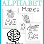 Free Alphabet Mazes for Kids