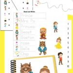 Beauty & the Beast Preschool & Kindergarten Pack