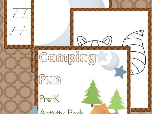PreK Camping Activity Pack