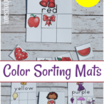 Color Sorting Mats