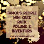 Free Famous Inventors Quiz Pack