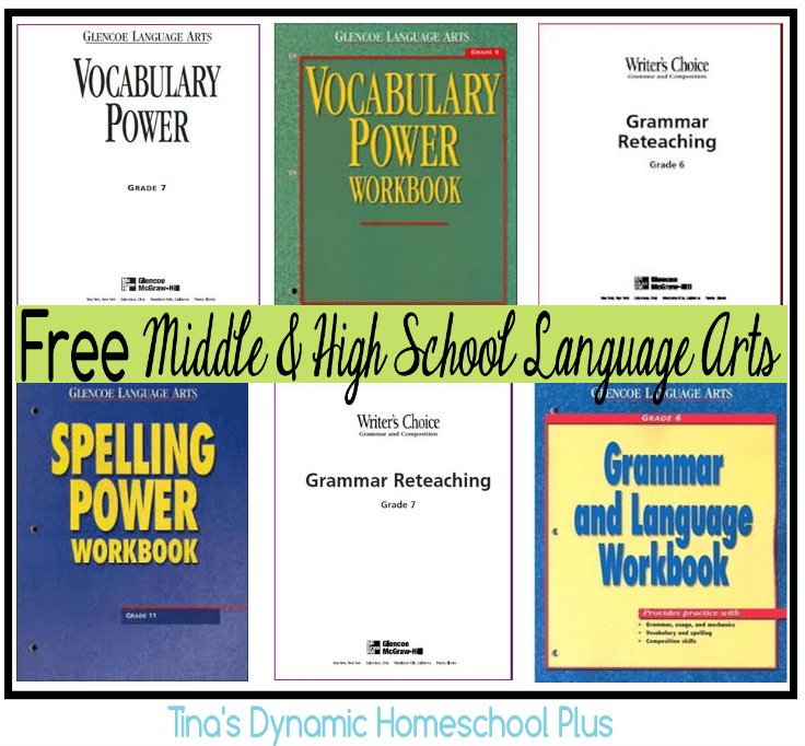 Looking for some Language Arts material for Middle & High School? Check out this great list! :: www.thriftyhomeschoolers.com