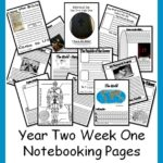 Bible Road Trip Notebooking Pages (Year 2, Week 1)