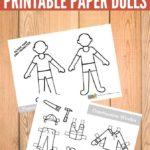 Construction Worker Paper Dolls