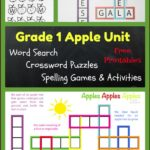 Apple Themed Spelling Practice & Activities