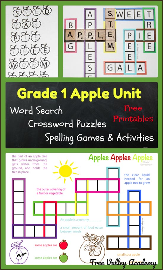 Whether you're doing an Apple themed Unit Study or just want a fun way to welcome them back to school, don't miss this Grade 1 Apple Unit packed with activities! :: www.thriftyhomeschoolers.com