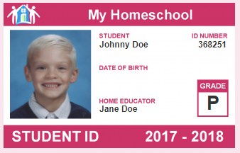Free Homeschool I.D. Cards