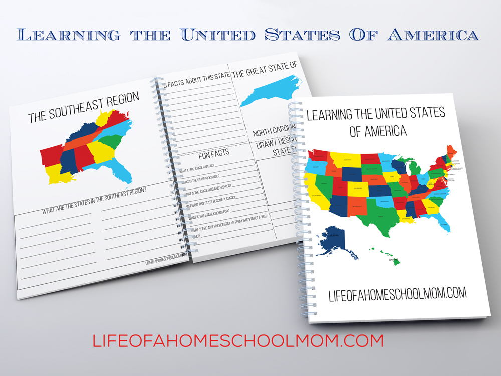 If you're studying the United States this year, don't miss this free Geography pack. :: www.thriftyhomeschoolers.com