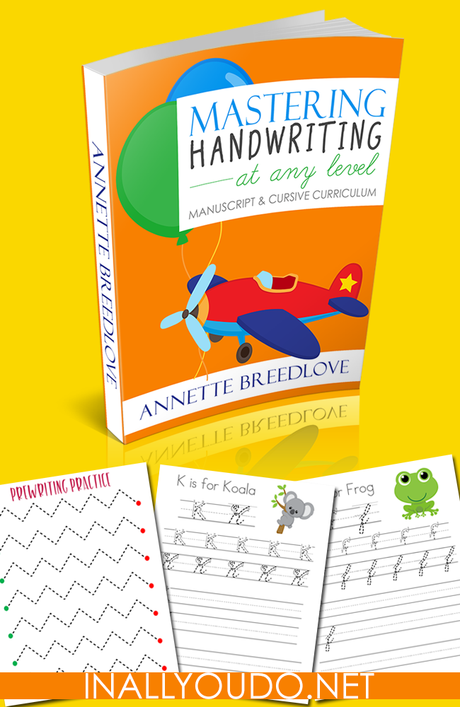 Would you like to teach your child manuscript/print and cursive together? Check out the new Mastering Handwriting at any Level Curriculum. HURRY...it's only FREE thru August 8th, then the price jumps to $15.99! :: www.thriftyhomeschoolers.com