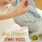 Life Skills: Sewing {with free printable task list}