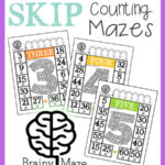 Skip Counting & Mutliplication Mazes
