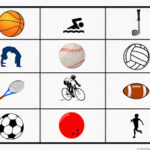 Printable Sports Grid Game for Preschoolers