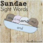 Free Sight Word Sundaes