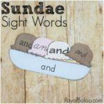 Free Sight Word Sundaes