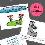 Itsy Bitsy Spider Printable Interactive Book