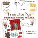 Preschool Cutting Practice Worksheets