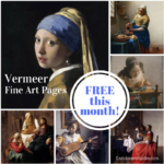 Free Vermeer Art Appreciation in August