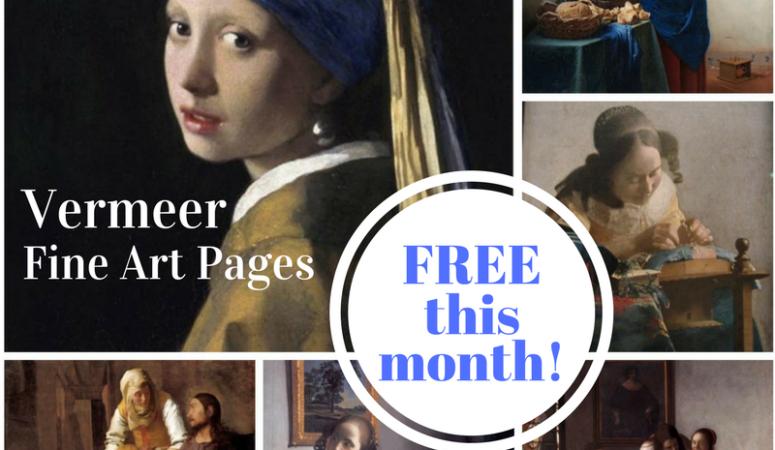 Free Vermeer Art Appreciation in August