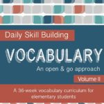 DEAL: Daily Vocabulary Packet – 50% OFF thru 9/30/17