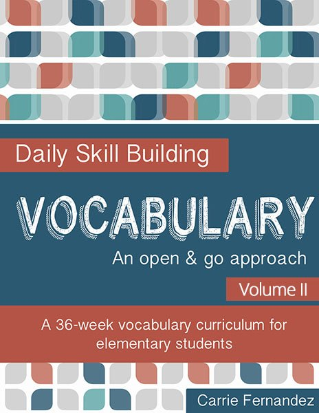 Are you looking for a fun and simple way to improve your child's vocabulary? Check out the brand new Daily Skill Building Vocabulary for 5th & 6th grades. :: www.thriftyhomeschoolers.com