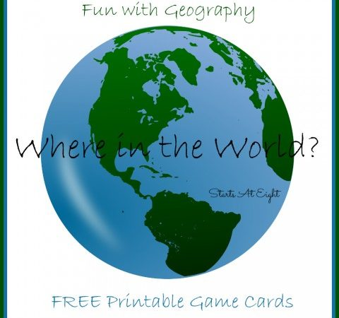 Where in the World, Geography Task Cards