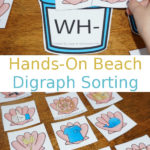 Beach themed Digraph Printables