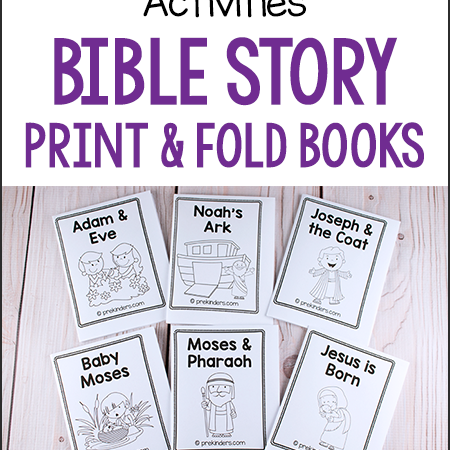 Free Bible Story Print & Find Books