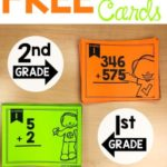 First & Second Grade Math Task Cards