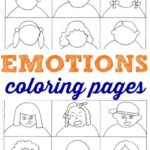 Free Emotions Coloring Pages