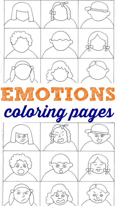 Help kids work through and/or express their emotions with these Emotions Coloring Pages. :: www.thriftyhomeschoolers.com