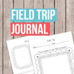 Free Printable Field Trip Journal