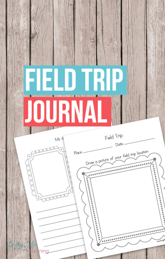 I love having my kids write out what they've seen and observed on our trips. These printable Field Trip Journal pages are perfect! :: www.thriftyhomeschoolers.com