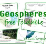 Free Geospheres Foldable