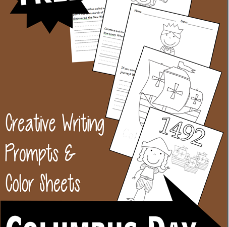 Columbus Day Printables
