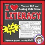 I Heart Literacy Freebie