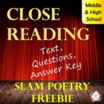 Free Close Reading Analysis of a Slam Poem