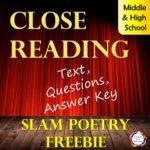 Free Close Reading Analysis of a Slam Poem
